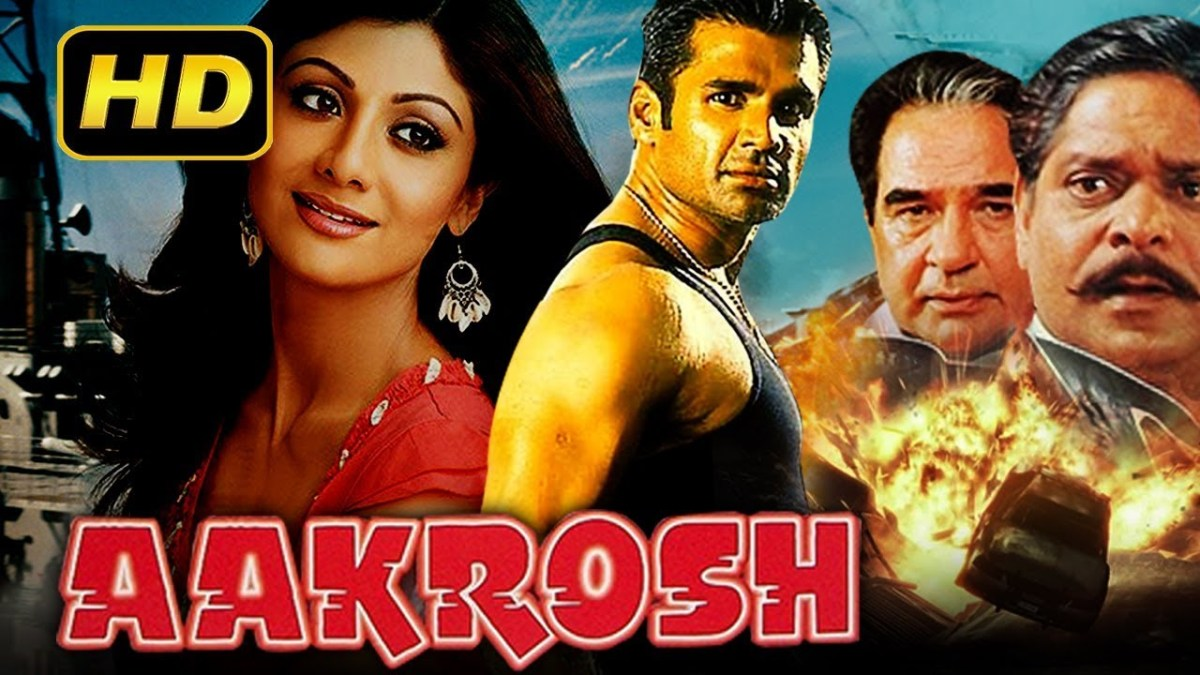 Aakrosh (1998) Full Bollywood Movie | Sunil Shetty, Shilpa Shetty, Suresh Oberoi, Johnny Lever