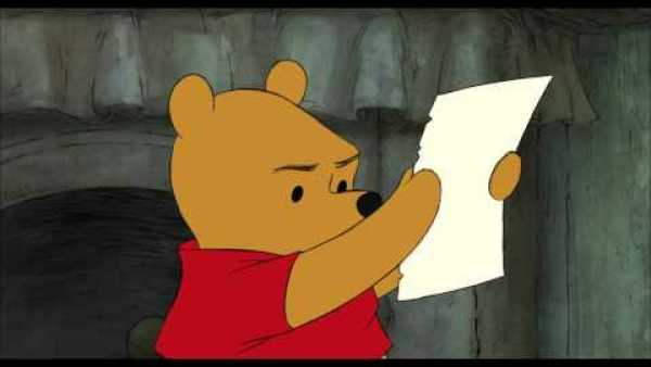 Newly Released English Movie: Winnie the Pooh: Pooh's Note Clip HD 1080p