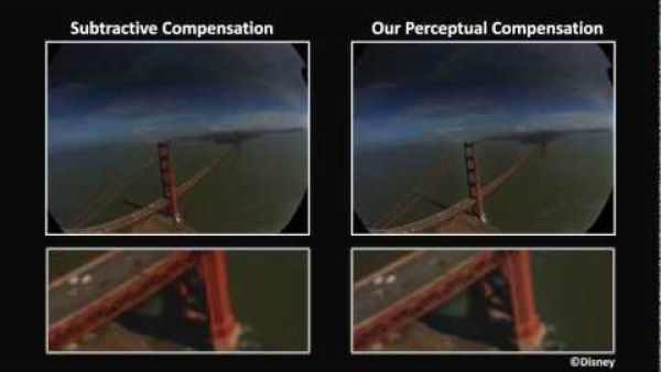 Fresh English Movie: Perceptually-Based Compensation of Light Pollution in Display Systems Full HD