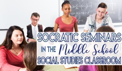 Socratic Seminars in Middle School