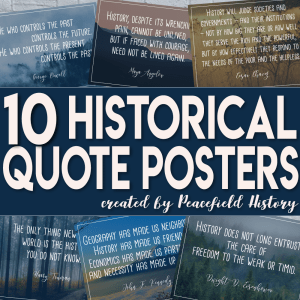 Historical Quote Posters