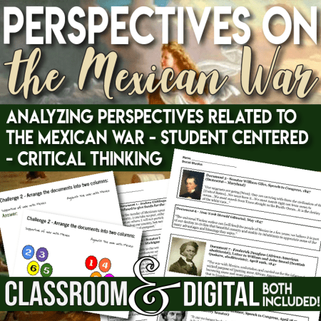 Document Analysis the Mexican American War