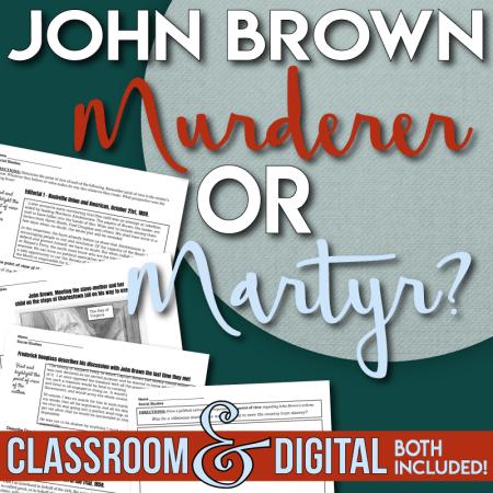 John Brown's Raid - Document Analysis Point of View