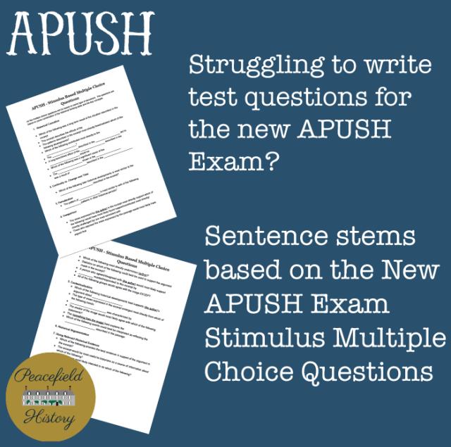 APUSH-Question-Stems
