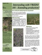 Peace Region Forage Association - Forage Facts Sheets