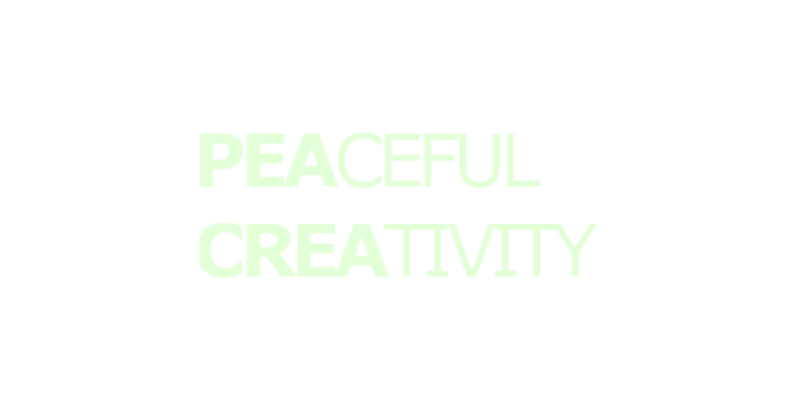 PeacefulCreativity.com logo transparent