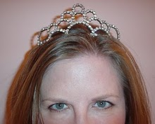 Yes, I have a tiara.