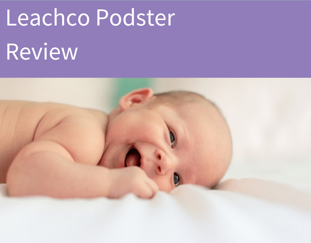 Leachco Podster Baby Lounger Review Featured Image