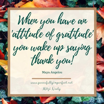 How to Grow Your Attitude of Gratitude