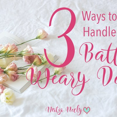 3 Ways to Find Peace When You're Battle Weary