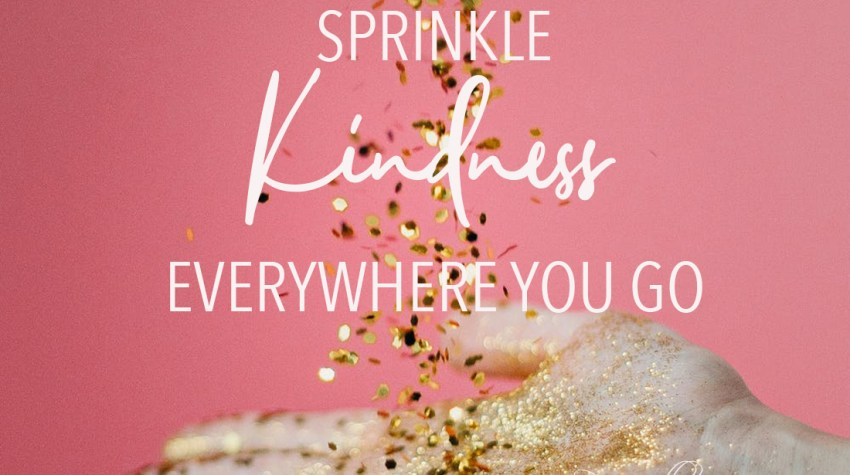 Sprinkle Kindness Feature