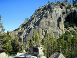 Climbing Area High Above Donner Lake