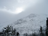 North end of ridge
