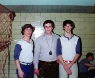 Coach Ken with Co-Captains