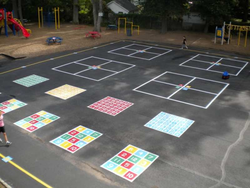 Painting Playground Markings painting suggestions