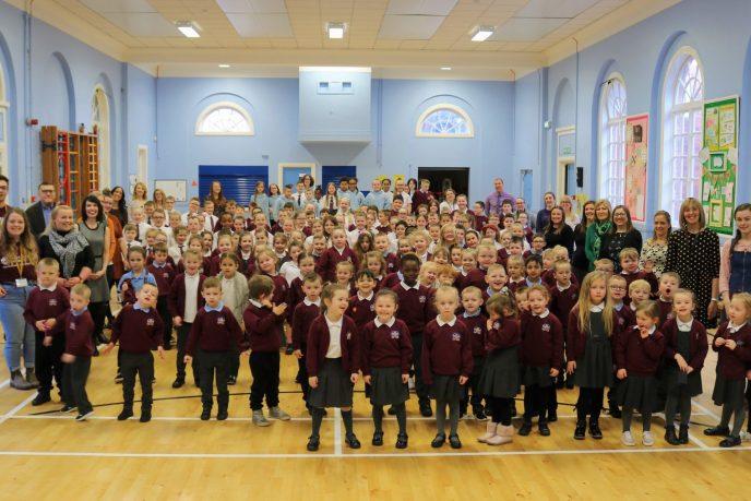 Currie Primary School, Belfast, Northern Ireland/ North of Ireland