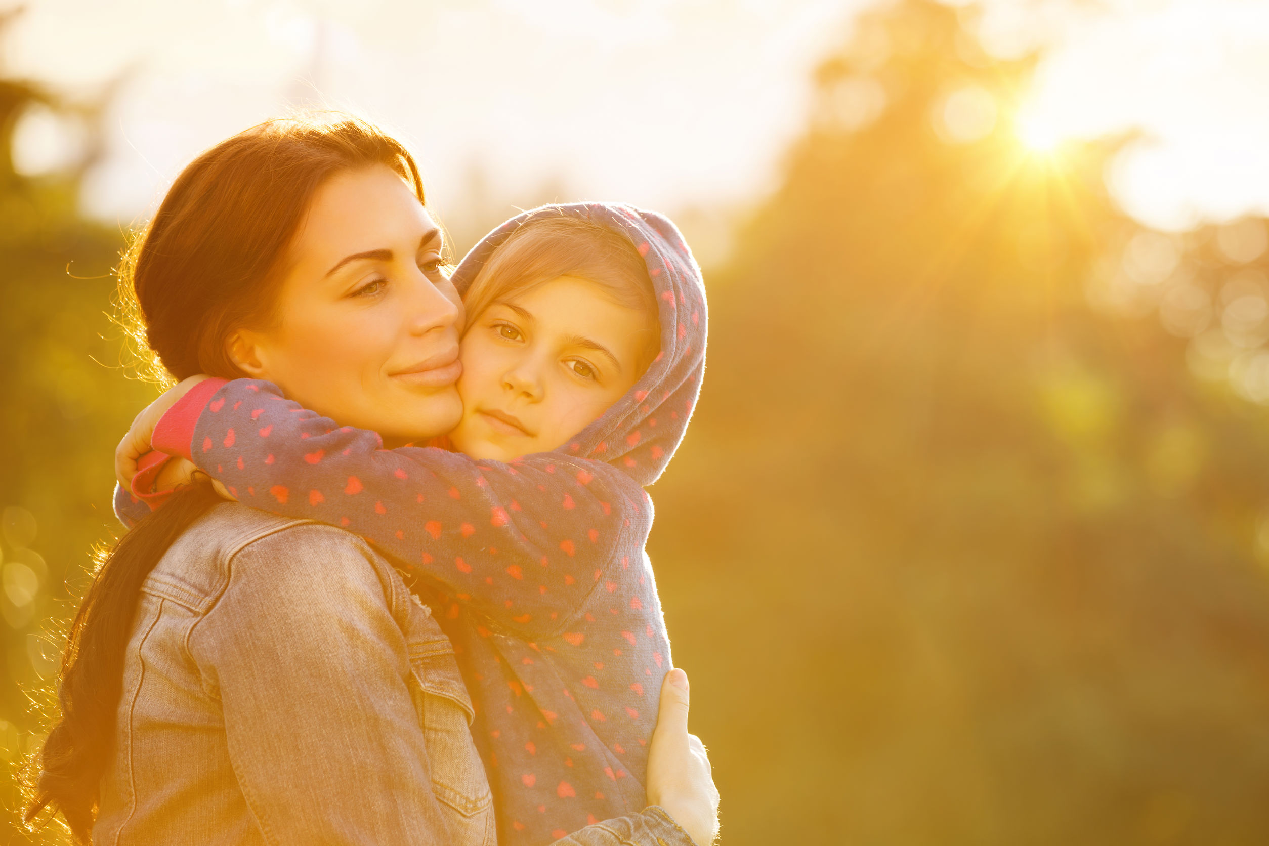A mother and daughter safe from harm at the Peace House in Park City, Utah
