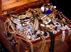 Jewels in a chest signifying an event at the Peace House in Park City, Utah