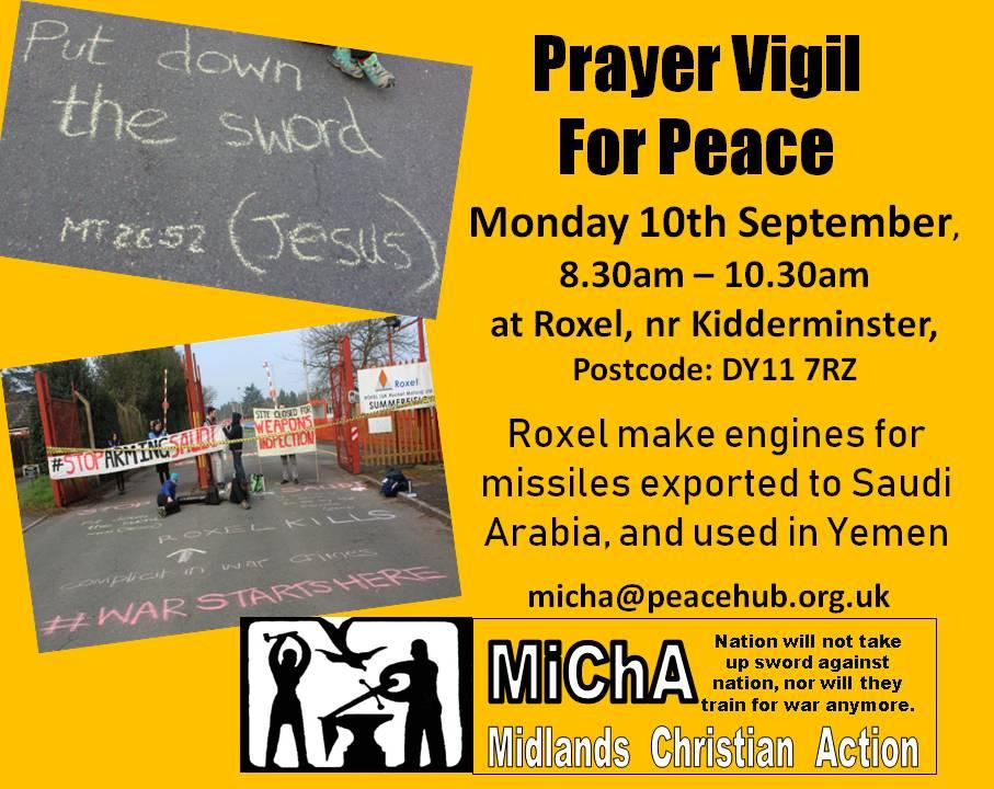 Prayer Vigil at Roxel
