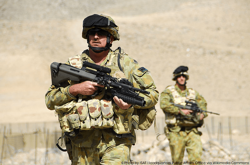 ©Photo by ISAF Headquarters Public Affairs Office via Wikimedia Commons