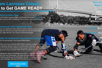 Register NOW for the virtual Harlem Lacrosse Classic