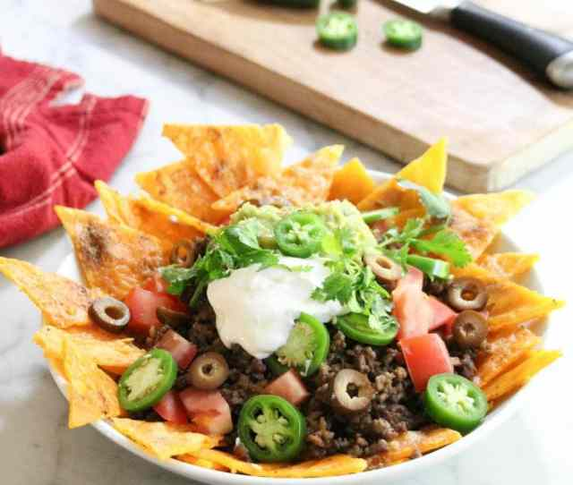 Keto Low Carb Nachos Peace Love And Low Carb