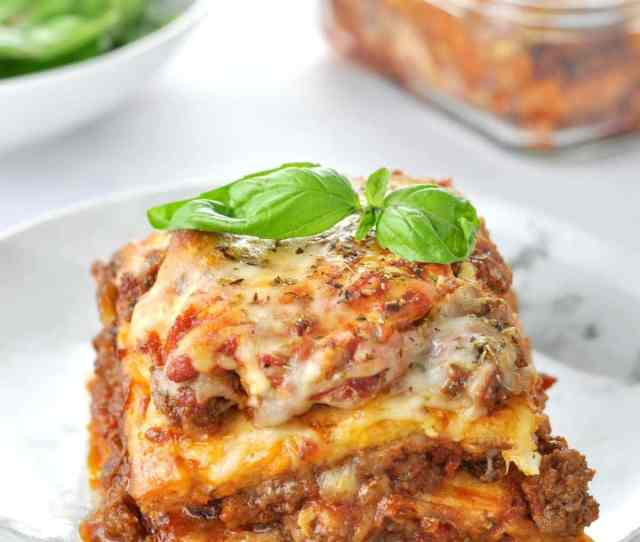 Just Like The Real Thing Low Carb Keto Lasagna Peace Love And Low