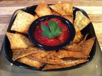 Low Carb Baked Tortilla Chips