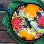 Bacon and Heirloom Tomato Frittata with Basil Recipe