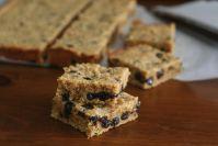 Peanut Butter Chocolate Chip Blondies - Low Carb, Gluten Free