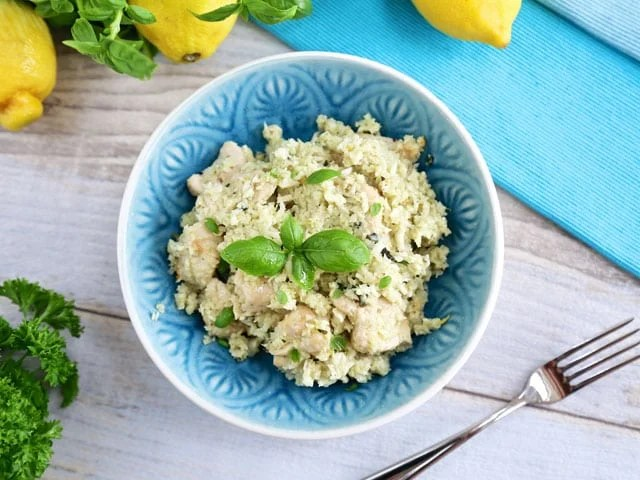 """Mediterranean Low-carb """"Risotto"""""""