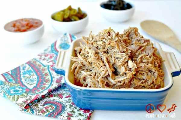 Shredded Taco Pork - Low Carb, Paleo