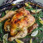 Paleo Takes 5 or Fewer - Herb Butter Chicken Stuffed with Sauerkraut