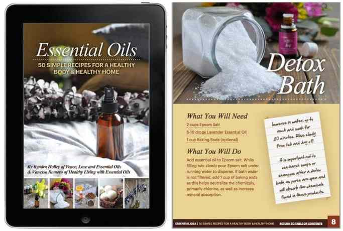 Essential Oils - 50 Simple Recipes for a Healthy Body & Healthy Home - Ebook