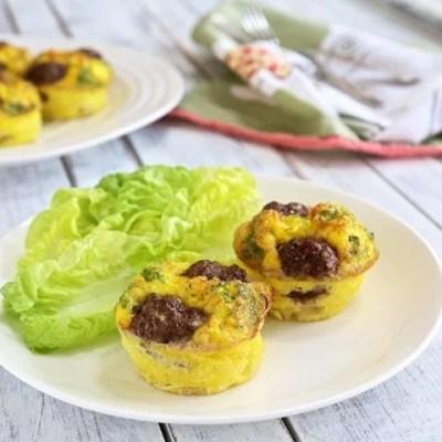 Reuben Egg Muffins – Low Carb, Gluten Free