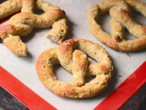 Low Carb Soft Pretzels - Low Carb Bread Round-Up | Peace Love and Low Carb