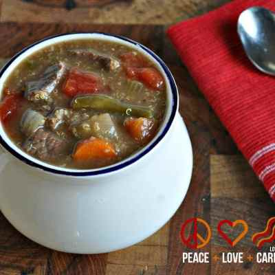Vegetable Beef Quinoa Soup – Low Carb