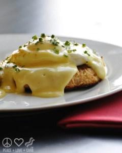 Crab Cake Eggs Benedict - Low Carb, Gluten Free