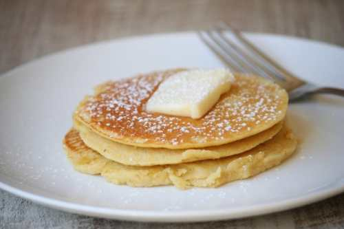 Low Carb Coconut Flour Pancakes -  Low Carb Pancakes, Waffles and French Toast Recipe Round up | Peace Love and Low Carb