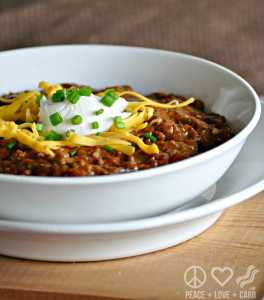 Three Meat No Bean Chili - Low Carb, Gluten Free
