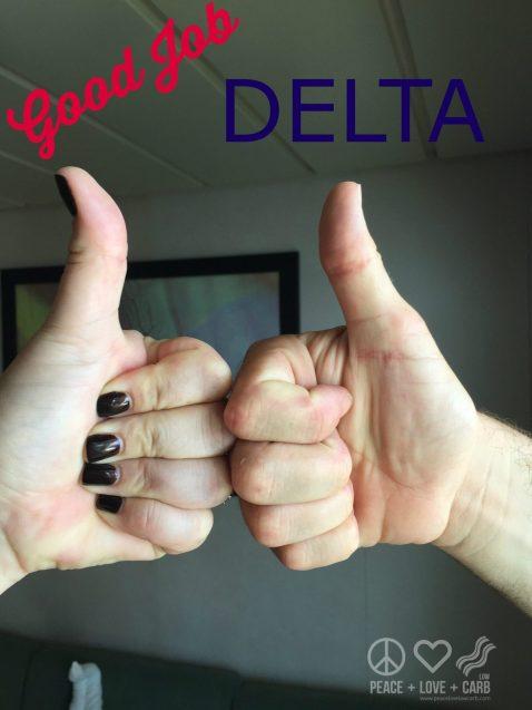 Good Job Delta - NOT!