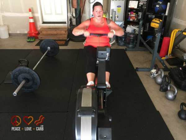 Day 2 - Workout - My 100 pound journey | Peace Love and Low Carb