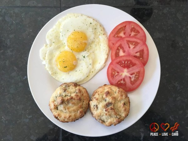Breakfast Day 25 - My 100 Pound Journey - Peace Love and Low Carb
