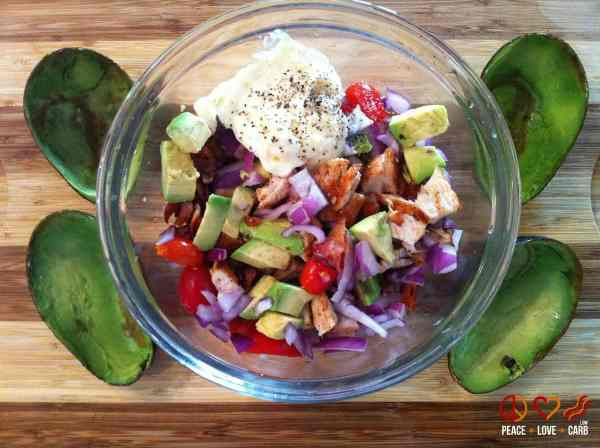 Chicken Club Avocado Boats - Peace Love and Low Carb