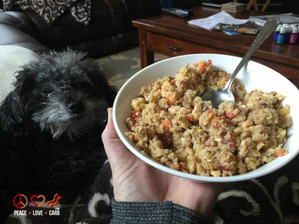 Chicken and Bacon Fried Rice - My 100 Pound Journey   Peace Love and Low Carb