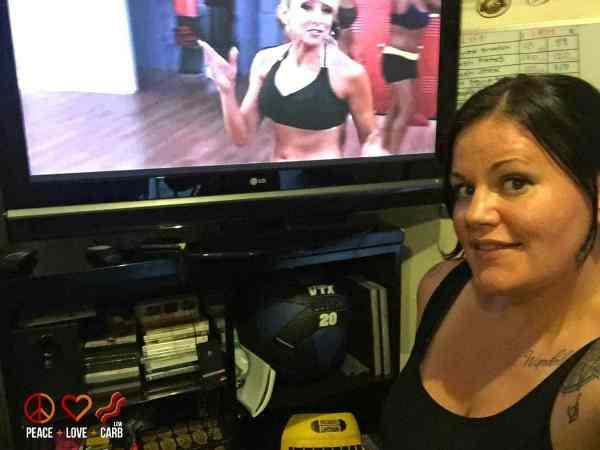 Turbo Fire Workout - My 100 Pound Journey | Peace Love and Low Carb