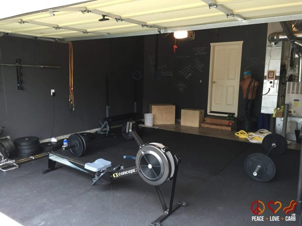 Our Home Gym   Peace Love and Low Carb