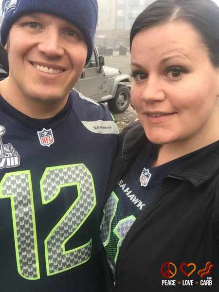 Seahawks Vs Steelers - Football Sunday | Peace Love and Low Carb