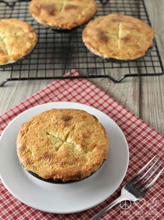 Low Carb Chicken Pot Pie - Gluten Free   Peace Love and Low Carb