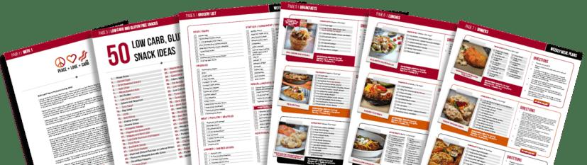 Piani settimanali per pasti a basso contenuto di carboidrati e glutine | Peace Love e Low Carb